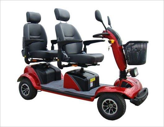 Кресло-коляска скутер МТ-40-2 Тандем