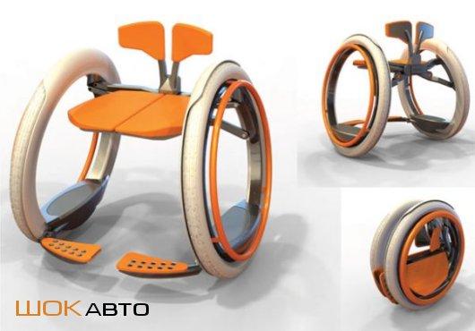 Инвалидная коляска Mobi с электромотором