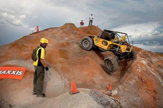 Рок-кроулинг (rock crawling) – скальный джип-триал