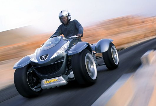 Водородный квадроцикл Quark от Peugeot