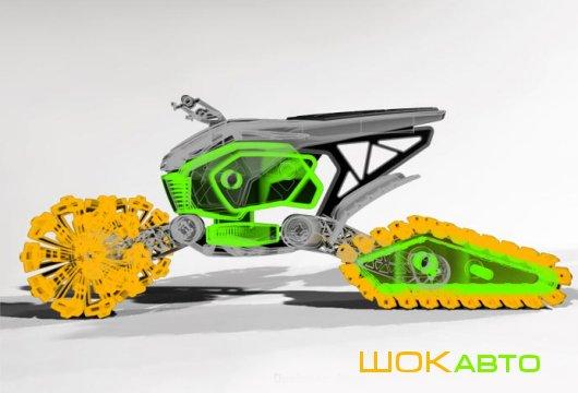 Квадровездеход TrakRok Concept