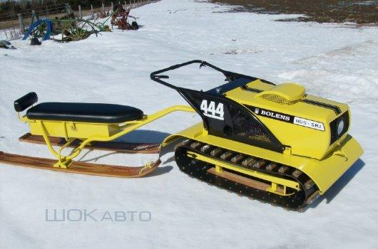 Снежный буксировщик Hus-Ski из Канады