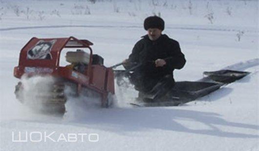 Зимний буксировщи Лайка