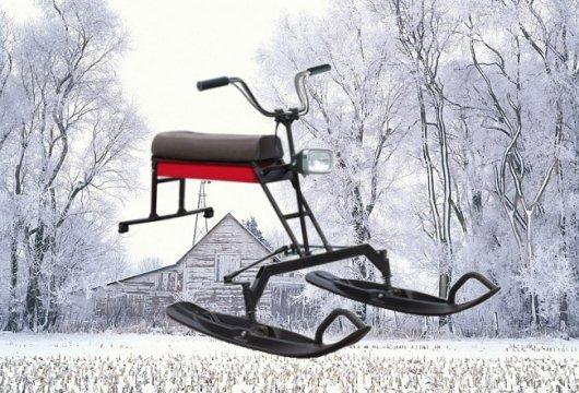 Модульная лыжная приставка для мотобуксировщиков Ладога