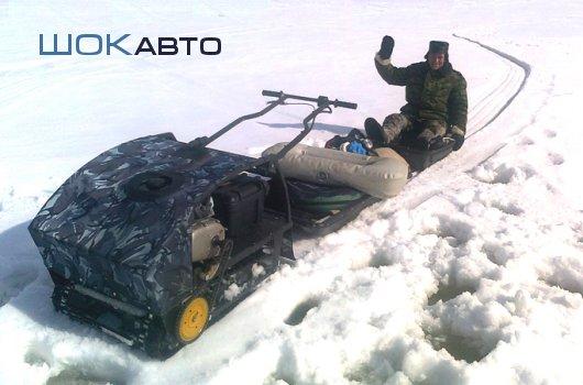 Мотособаки Снежок