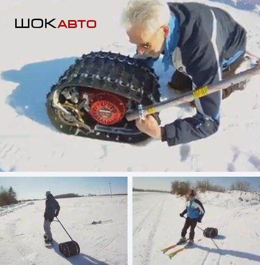 Лыжный толкатель Жук