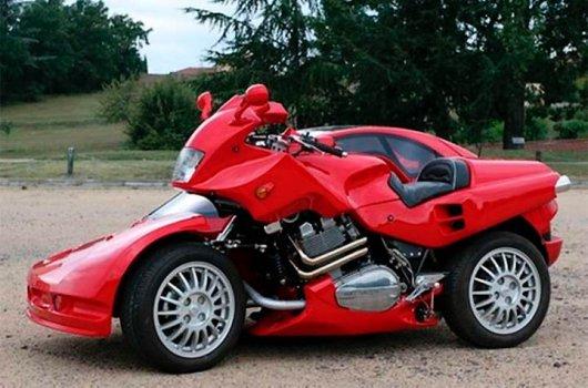 Мотоавтоцикл Snaefell