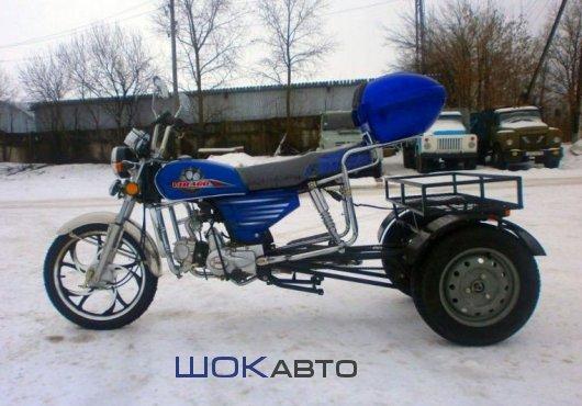 Трехколесный грузовой мопед Трайк-110