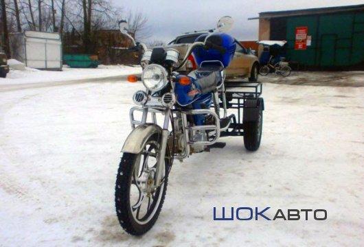 Трехколесный мопед Traik-110 с задним ходом