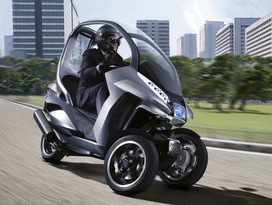 Эко-скутер Peugeot Hymotion3 Compressor