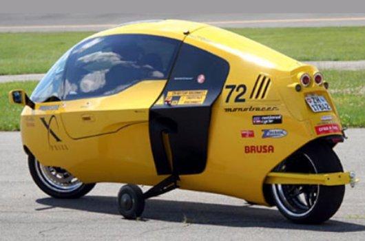 Electromobil E-Tracer