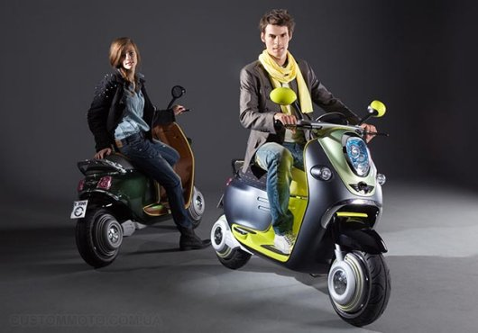 Электромотороллер MINI e-Scooter