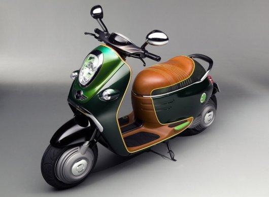 Электрический мотороллер MINI e-Concept