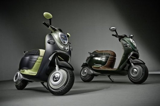 Электрический скутер MINI e-Concept