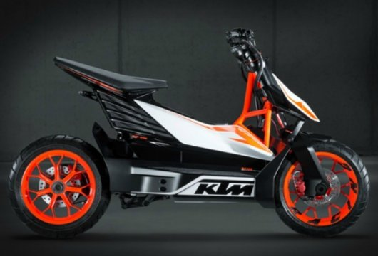 Электроскутер KTM Freeride E-Speed