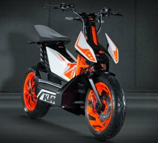 Скутер KTM E-Speed с электромотором
