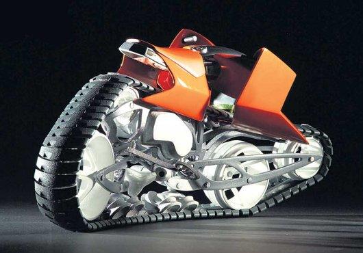 Мотоцикл на гусеницах Hyanide