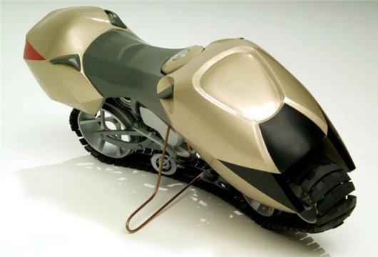Мотоцикл на гусенице Hyanide