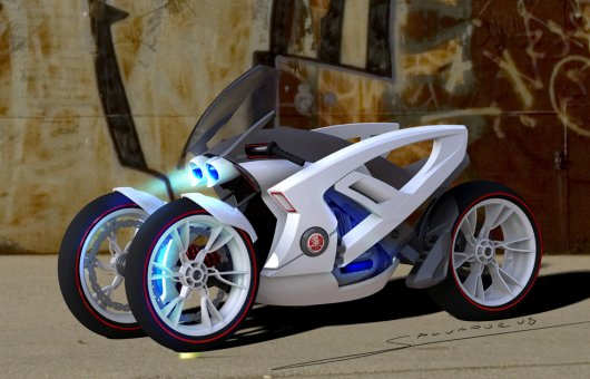 Электромотоцикл Tricera