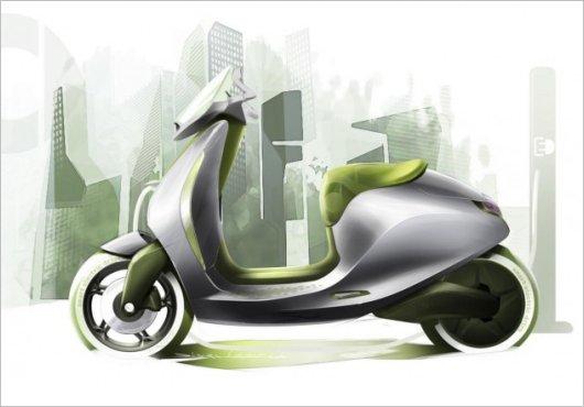 Мотороллер Escooter Smart