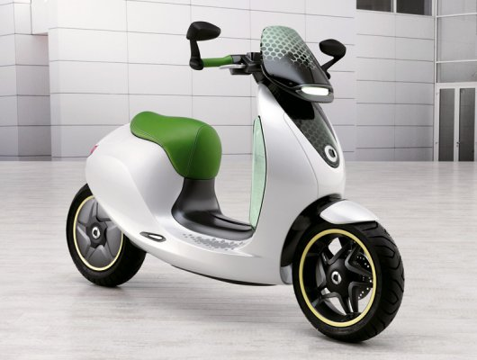 Электрический мотороллер Escooter Smart