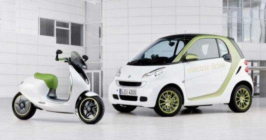 Электроскутер Escooter Smart