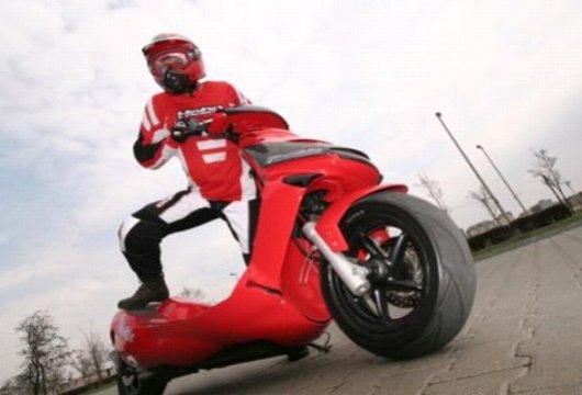 Двухколесный скутер без сиденья StandBike