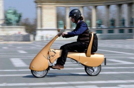 Складной электрический скутер Moveo
