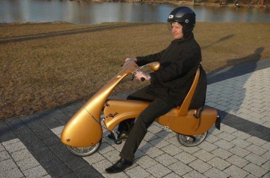 Складной скутер Moveo с электромотором