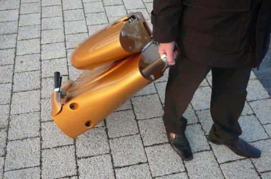 Электроскутер-чемодан Moveo