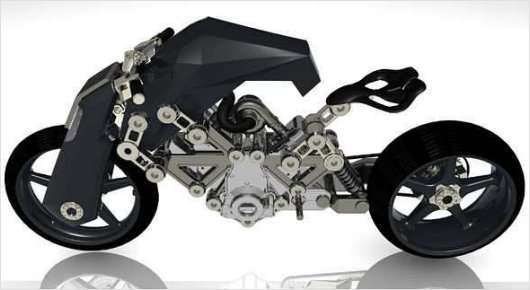 Спортивный мотоцикл Renovatio