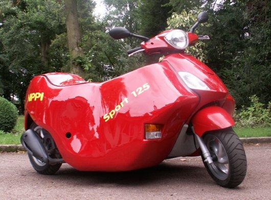 Трехколесный скутер Nippi для инвалидов