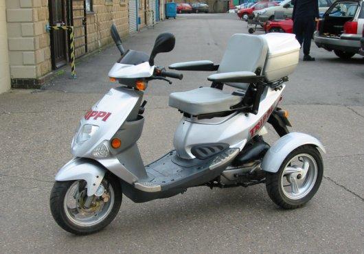 Бензиновый трицикл Trippi