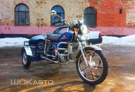 Трехколесный мопед Traik-50
