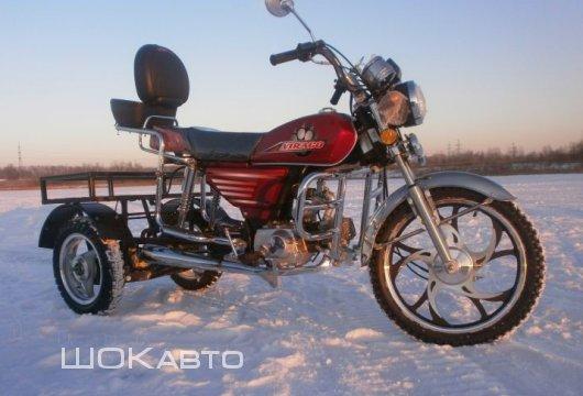Трехколесный грузовой мопед Трайк-50