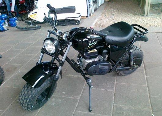 Мотоцикл повышенной проходимости Куница