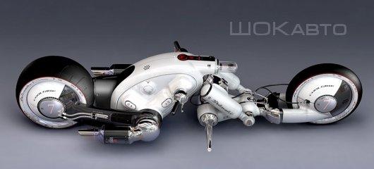 Мотоцикл Detonator с электромотором