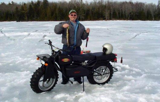 Полноприводный мотоцикл Rokon Scout