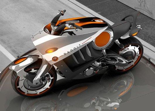 Концепт мотоцикла Dacoit