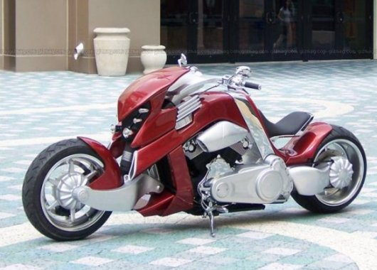 Motorcycle Travertson V-Rex