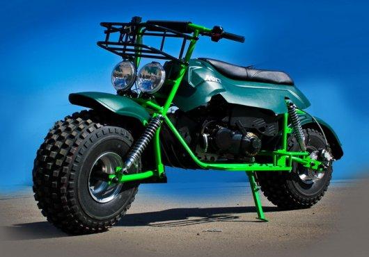 Мотоцикл-вездеход Атаман
