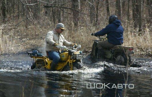 Плавающие мотоциклы-вездеходы Rokon Trail-Breaker