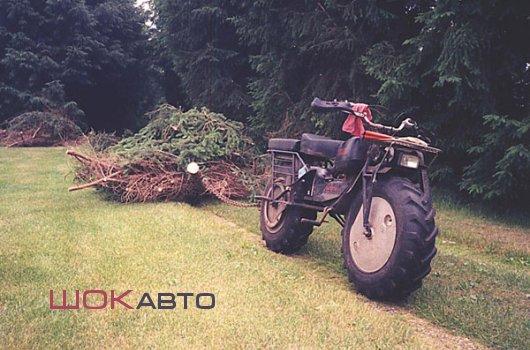 Двухколесный мототрактор Rokon Trail-Breaker