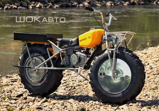Полноприводный мотоцикл Рокон Трейл-Брейкер