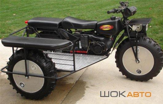 Мотовездеход Rokon Trail-Breaker с коляской