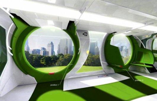 Концептуальный трамвай будущего