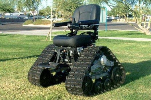 Инвалидное кресло-танк TankChair