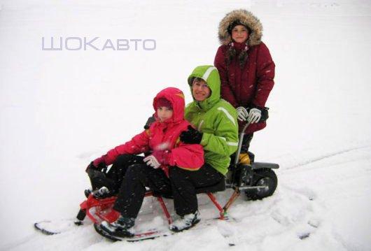 Снегокат Аргамак с мотором