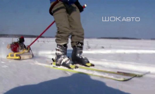 Толкатель для лыжника Тизер