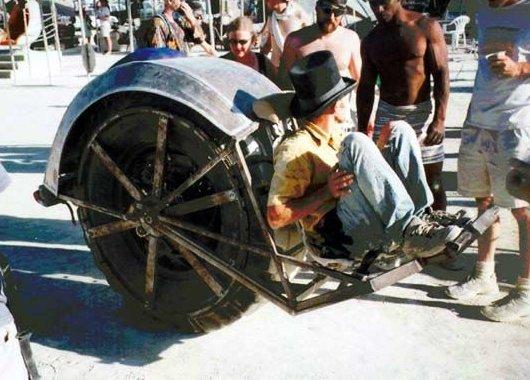 Самодвижущееся колесо RIOT Wheel